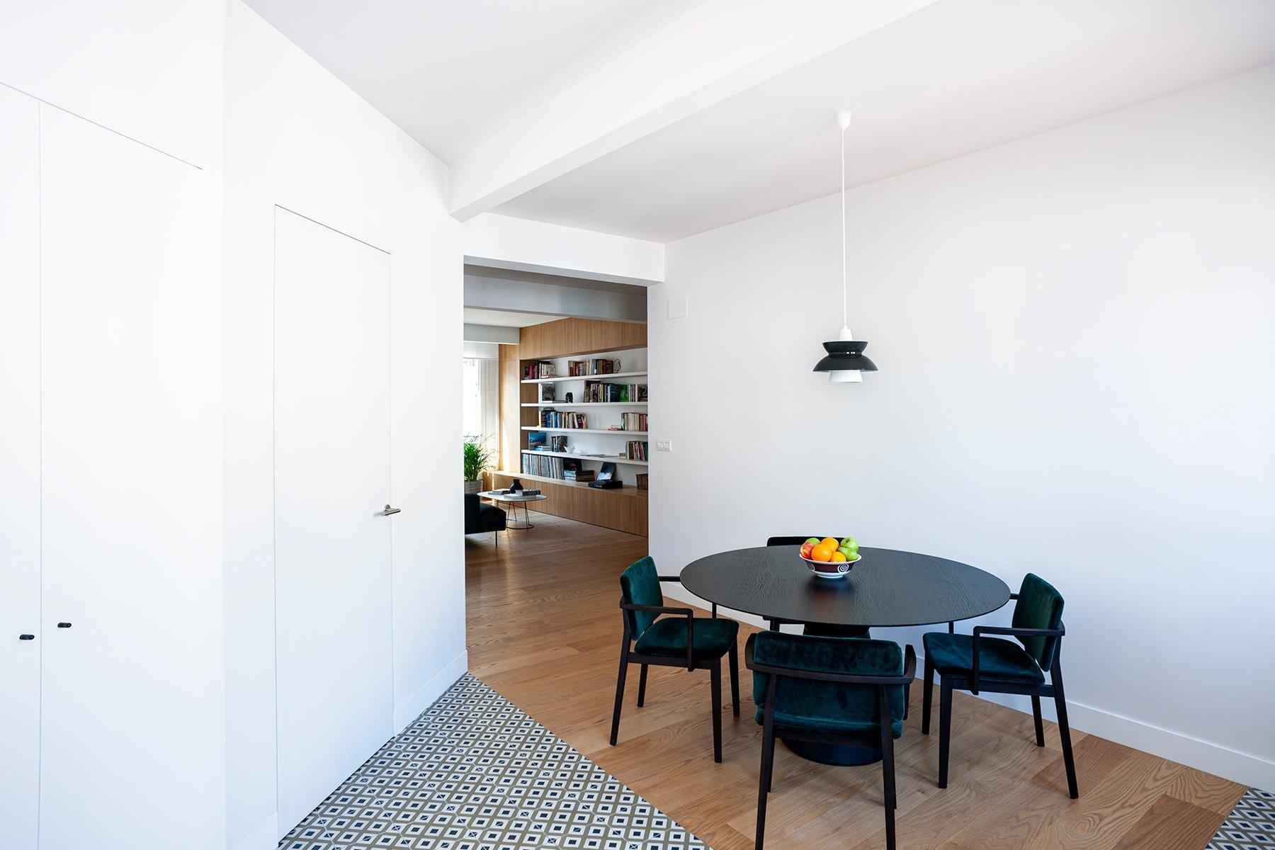 Arquitectura innovadora: la casa Alap, en Bilbao, consigue una gran amplitud y luminosidad gracias a una descompartimentación de la distribución.