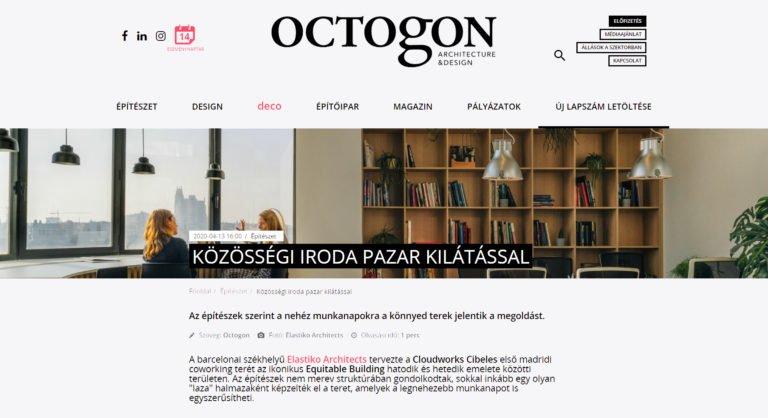 Elastiko en Octogon architecture & design magazine.
