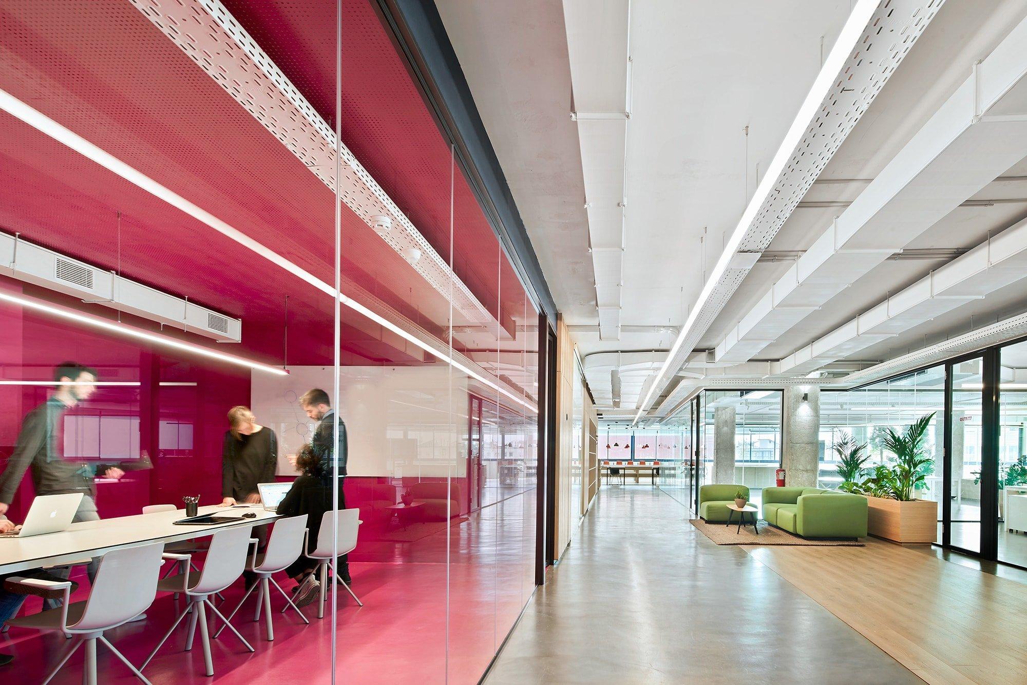 El Startup Hub en 22@ de Poblenou pretende convertirse en un centro de referencia para las start-ups de Barcelona.