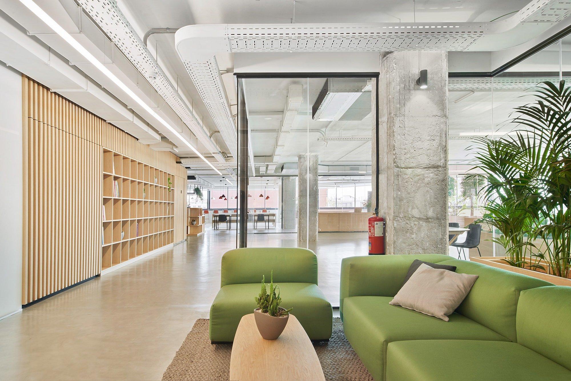 El Startup Hub se sitúa en la cuarta planta del edificio Pere IV de la calle Pujades, en el barrio del Poblenou de Barcelona.