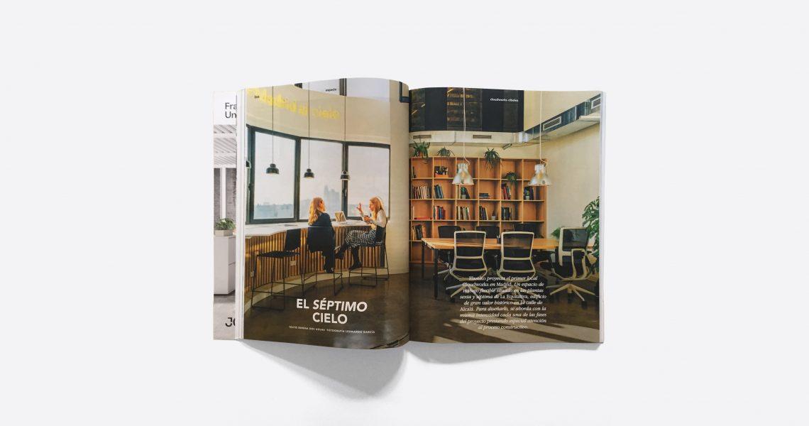 La revista Distrito Oficina ha dedicado un amplio reportaje a nuestro proyecto Cloudworks Cibeles en Madrid.